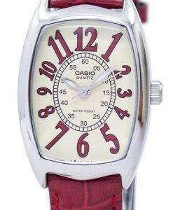 カシオ石英アナログ LTP 1208E 9B2DF LTP 1208E 9B2 女性の腕時計
