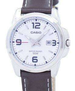 カシオ Enticer アナログ クオーツ LTP 1314 L 7AVDF LTP 1314 L 7AV レディース腕時計
