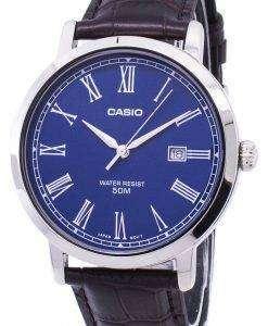 カシオ アナログ クオーツ MTP E149L 2BV MTPE149L 2BV メンズ腕時計
