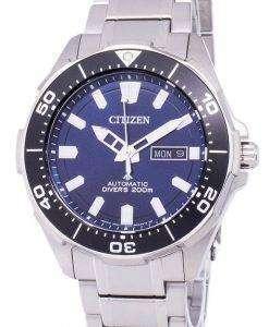 市民プロマスター マリン スキューバ ダイバー 200 M 自動 NY0070-83 L メンズ腕時計