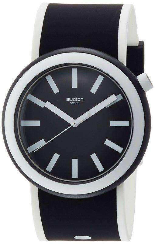 スウォッチ オリジナル Poplooking アナログ クオーツ PNB100 メンズ腕時計