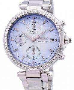 セイコー クロノグラフ クオーツ ダイヤモンド アクセント SNDV39 SNDV39P1 SNDV39P レディース腕時計