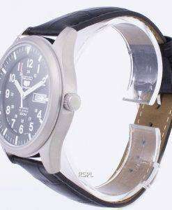 セイコー 5 スポーツ自動日本製比黒革 SNZG09J1 LS6 メンズ腕時計