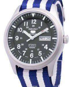 セイコー 5 スポーツ自動日本製 Nato ストラップ SNZG09J1 NATO2 メンズ腕時計