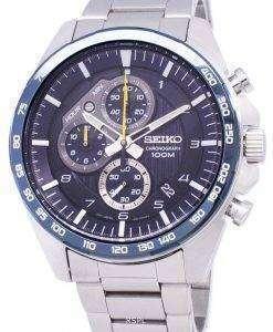 セイコー Motosportz クロノグラフ クォーツ SSB321 SSB321P1 SSB321P メンズ腕時計