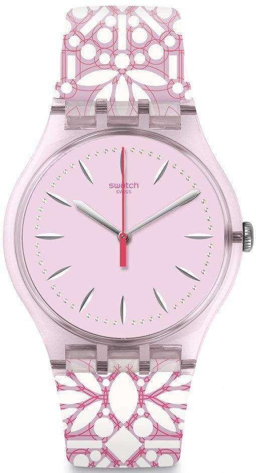 スウォッチ オリジナル フルーリ アナログ クオーツ SUOP109 レディース腕時計