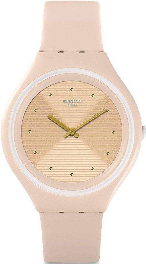 スウォッチ大きな Skinskin アナログ クオーツ SVUT100 ユニセックス腕時計