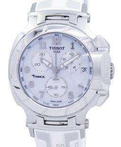 ティソ T シャツレース クロノグラフ クォーツ T048.417.17.012.00 T0484171701200 メンズ腕時計
