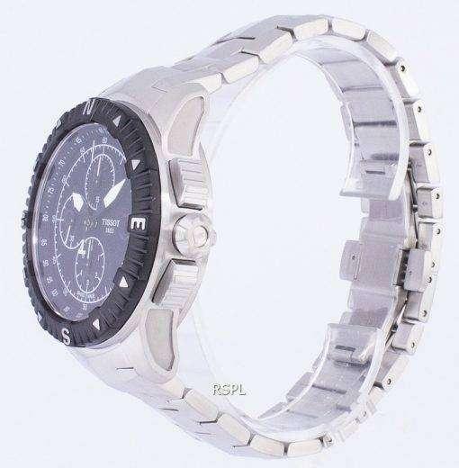 ティソ T-ナビゲーター クロノグラフ自動 T062.427.11.057.00 T0624271105700 メンズ腕時計