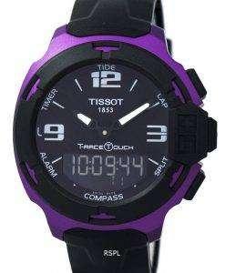 ティソ T シャツレース タッチ アラーム クオーツ T081.420.97.057.05 T0814209705705 メンズ腕時計