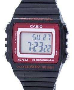 カシオ照明クロノグラフ アラーム デジタル W 215 H 1A2VDF W215H 1A2VDF ユニセックス腕時計