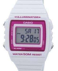 カシオ照明クロノグラフ アラーム デジタル W 215 H 7A2VDF W215H 7A2VDF ユニセックス腕時計