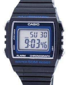 カシオ照明クロノグラフ アラーム デジタル W 215 H 8AVDF W215H 8AVDF ユニセックス腕時計