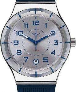 スウォッチ アイロニー Sistem 海軍自動 YIS409 メンズ腕時計