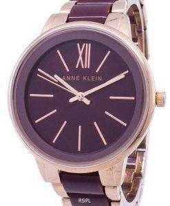 アン ・ クライン石英 1412BYRG レディース腕時計
