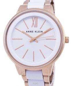 アン ・ クライン石英 1412WTRG レディース腕時計