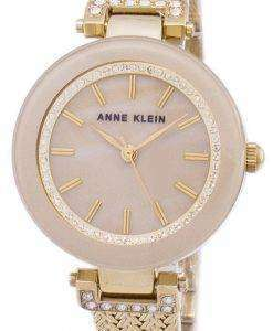 アン ・ クライン水晶ダイヤモンド アクセント 1906TMGB レディース腕時計