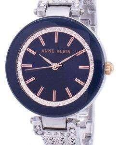 アン ・ クライン水晶ダイヤモンド アクセント 1907NVRT レディース腕時計