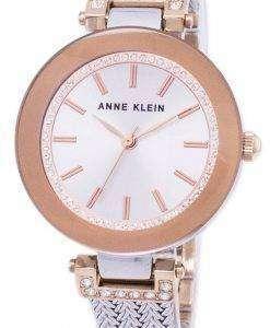 アン ・ クライン水晶ダイヤモンド アクセント 1907SVRT レディース腕時計