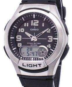 カシオ アナログ デジタル照明 Telememo AQ-180 w-1BVDF AQ 180 w 1BV メンズ腕時計