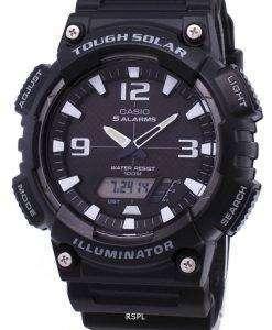 カシオ アナログ デジタル厳しい AQ S810W 1AVDF AQ S810W 1AV ソーラーメンズ腕時計