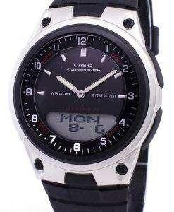 カシオ アナログ デジタル Telememo 照明 AW 80 1AVDF AW-80-1AV メンズ腕時計