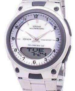 カシオ アナログ デジタル Telememo 照明 AW 80 D 7AVDF AW 80 D 7AV メンズ腕時計