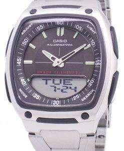 カシオ アナログ デジタル Telememo 照明 AW 81 D 1AVDF AW 81 D 1AV メンズ腕時計