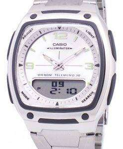 カシオ アナログ デジタル Telememo 照明 AW 81 D 7AVDF AW 81 D 7AV メンズ腕時計
