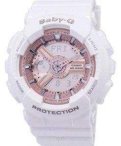 カシオベビー-G 世界時間アナログ デジタル BA 110-7A1 レディース腕時計