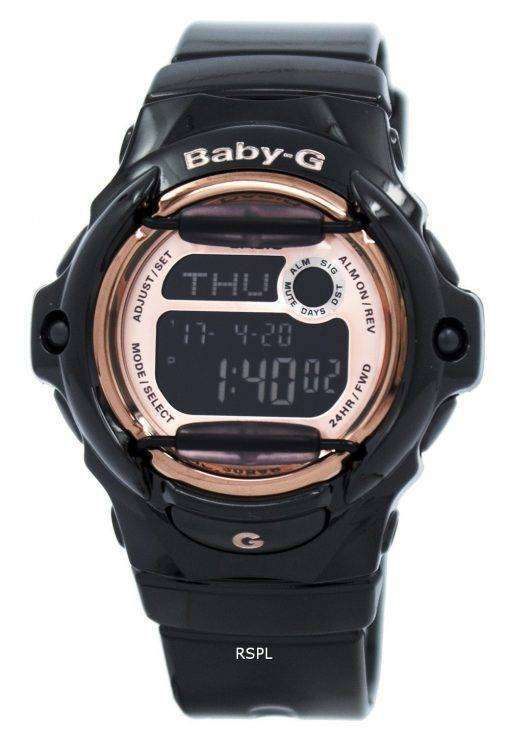 カシオ ベビー G デジタルの世界時間データバンク BG 169 G 1 レディース腕時計