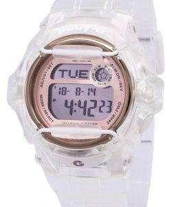 カシオベビー-G の耐衝撃性アラーム デジタル 200 M BG 169 G 7B BG169G 7B レディース腕時計