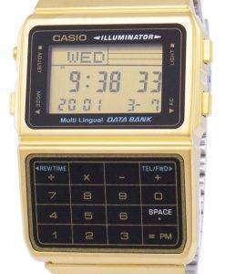 カシオ デジタル ステンレス鋼データ銀行多言語 DBC 611 G 1DF DBC 611 G 1 男性用の腕時計