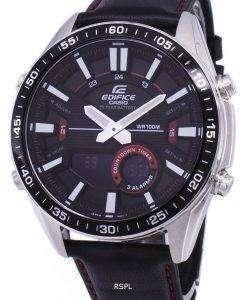 カシオ目覚ましアナログ デジタル クオーツ EFVC100L 1AV 低公害車-C100L-1AV メンズ腕時計