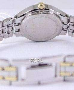 市民水晶スワロフ スキー コレクション EJ6044-51 P レディース腕時計