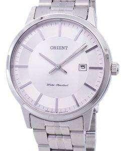 古典的な石英 FUNG8003W メンズ腕時計をオリエントします。