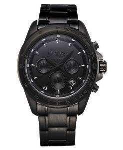 牡羊座金刺激ドリフター クロノグラフ クォーツ G 7001 BK アウト メンズ腕時計