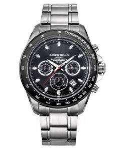 牡羊座金刺激ドリフター クロノグラフ クォーツ G 7001 SBK BK メンズ腕時計