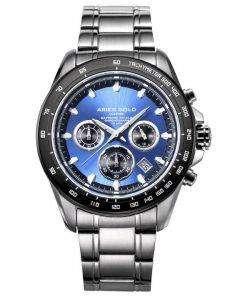 牡羊座金刺激ドリフター クロノグラフ クォーツ G 7001 SBK BU メンズ腕時計