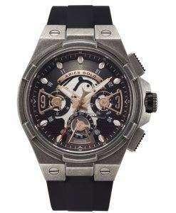 牡羊座金刺激雷水晶 G 7003 AS BKRG メンズ腕時計
