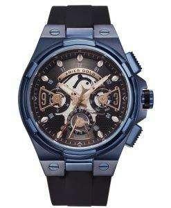 牡羊座金刺激雷水晶 G 7003 BU BKRG メンズ腕時計