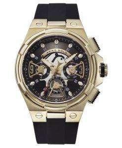 牡羊座金刺激雷水晶 G 7003 G BKG メンズ腕時計