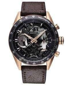 牡羊座金刺激 Jolter 石英 G 7008 RG BK メンズ腕時計