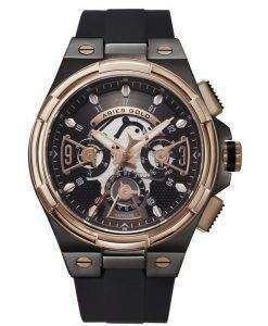 牡羊座金刺激雷水晶 G 7003 BKRG BKRG メンズ腕時計