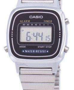 カシオ デジタル クラシック アラーム タイマー LA670WA 1DF LA670WA 1 レディース腕時計