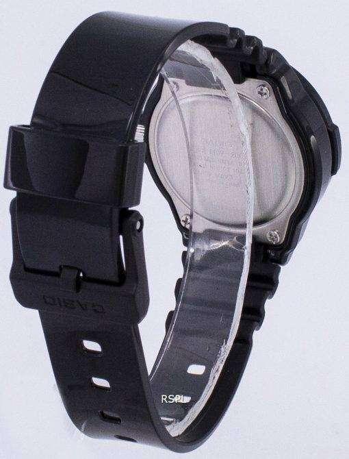 カシオ Enticer ブラック ダイヤルのアナログ LRW 200 H 1BVDF LRW 200 H 1BV レディース腕時計
