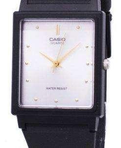 カシオ クラシック石英アナログ ホワイト ダイヤル長方形 MQ 38 7ADF MQ-38-7 a メンズ腕時計