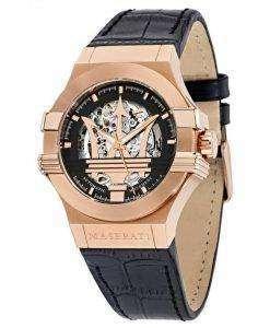 マセラティ ポテンザ自動 R8821108002 メンズ腕時計