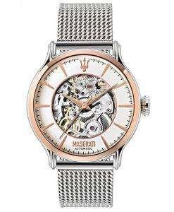 マセラティ刊行物に掲載自動 R8823118001 メンズ腕時計