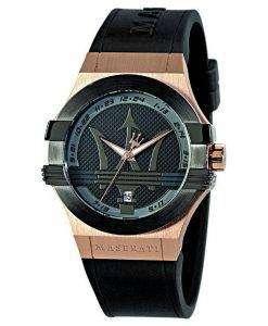 マセラティ ポテンザ石英 R8851108002 メンズ腕時計